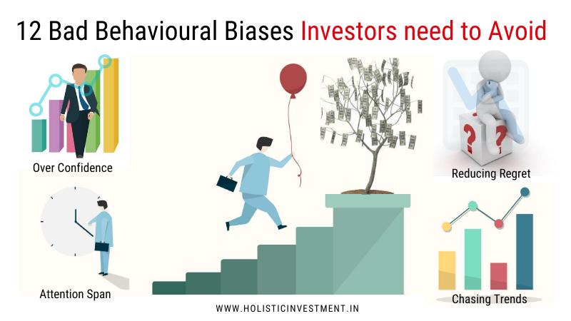 12 Bad Behavioural Biases Investors need to Avoid