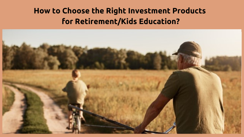 how to choose right investment products