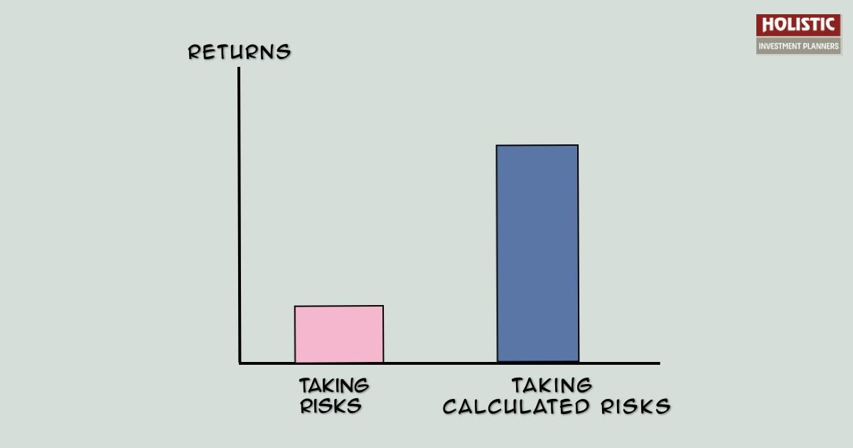 Do you take blind risks while investing