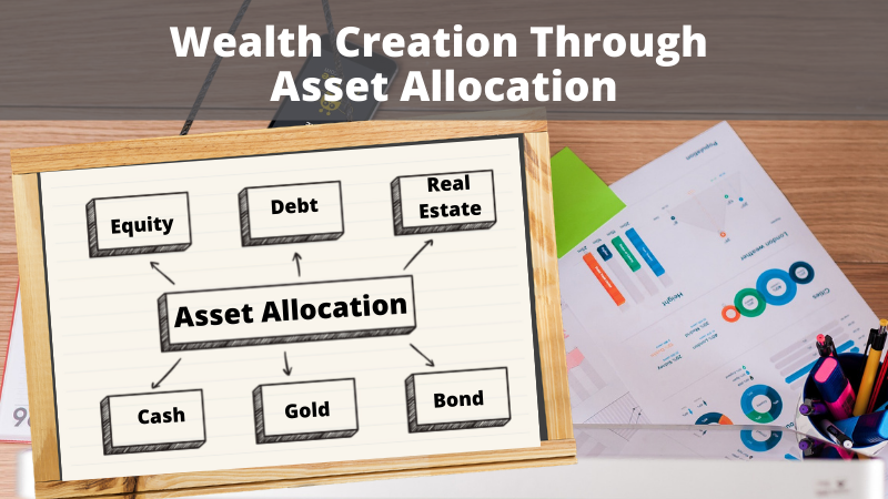 Wealth creation through asset allocation